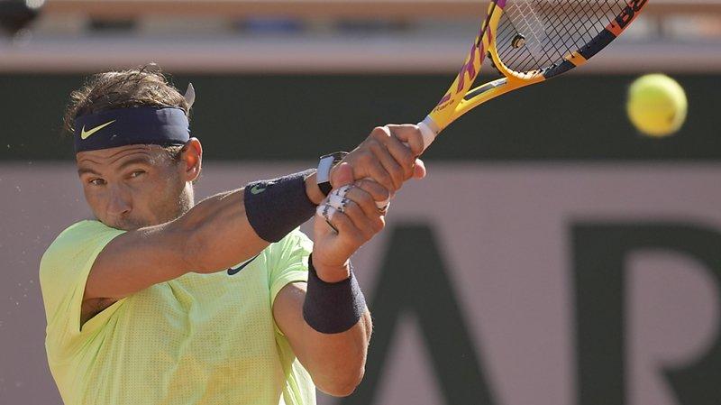 Nadal a dû écarter deux balles de troisième set au 1er tour.