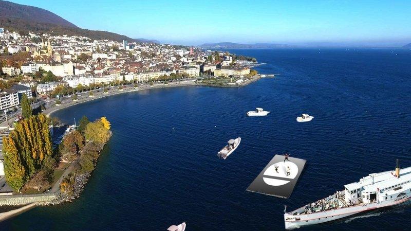 Breaking: ils danseront… sur le lac de Neuchâtel