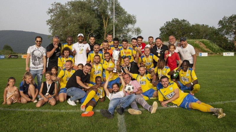 Coffrane, petit village arrivé au sommet du football neuchâtelois