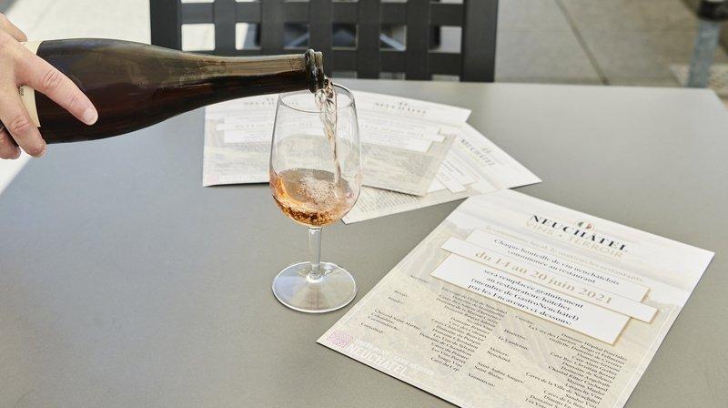 Plus de 2300 bouteilles de vin neuchâtelois offertes aux restaurateurs