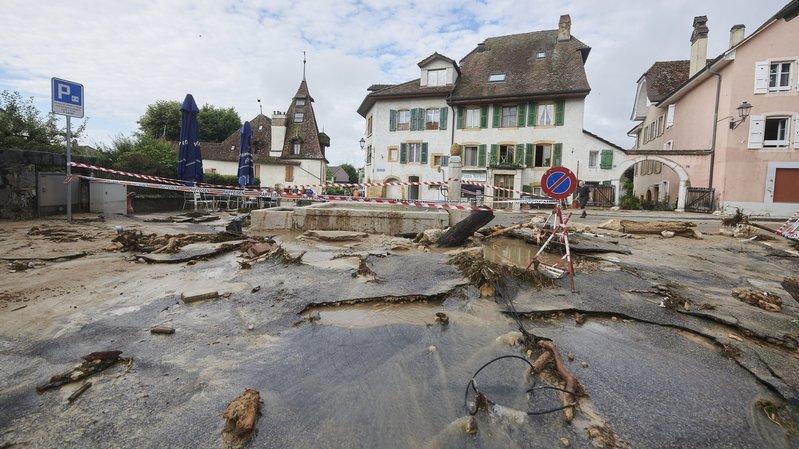 Cressier: les autorités mettent en garde contre le risque d'orage