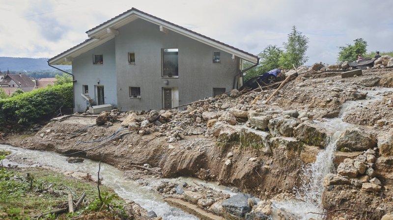 Inondations à Cressier: carte, faits et chiffres
