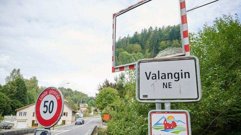 Une automobiliste blessée à Valangin