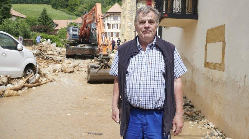 Cressier: le président de la commune raconte les précédents de1962 et1983