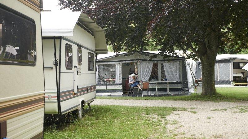 Camping de Cortaillod: la simplicité dans un écrin de verdure