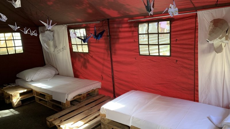 Neuchâtel: du camping «sauvage» en ville