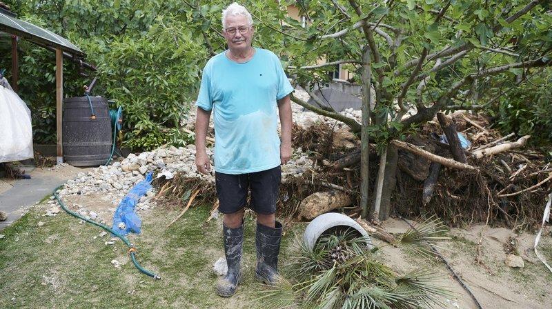 Inondations à Cressier: «Ma première image, deux voitures dévalant la rue, emportées par les flots»