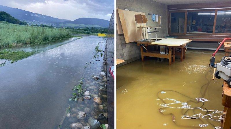 Lignières: le collège et les canalisations ont subi les intempéries à Lignières