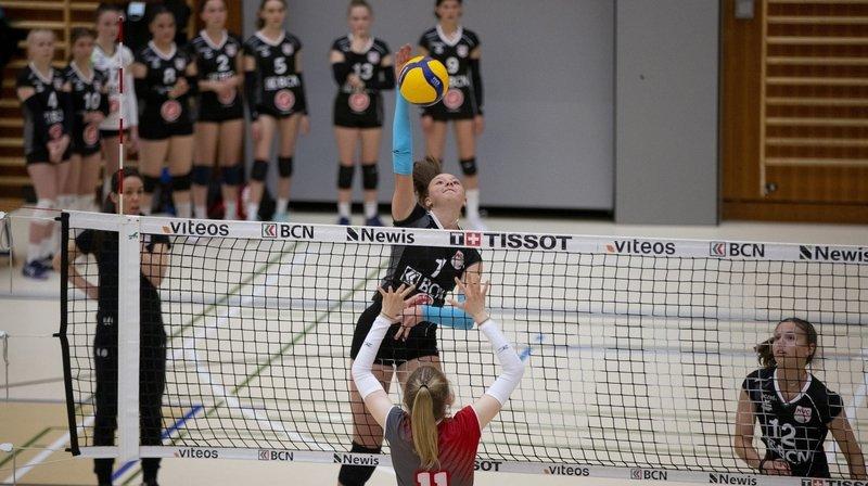 Volleyball: le «NUC-mini» à la lutte pour le titre national