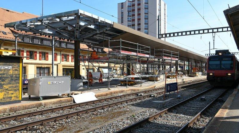 Gros travaux sur la ligne La Chaux-de-Fonds-Neuchâtel
