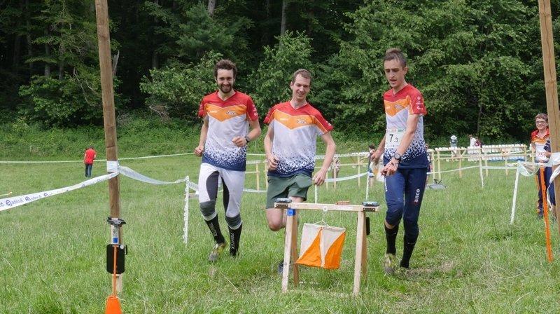 Orientation: le relais neuchâtelois champion de Suisse à Fribourg