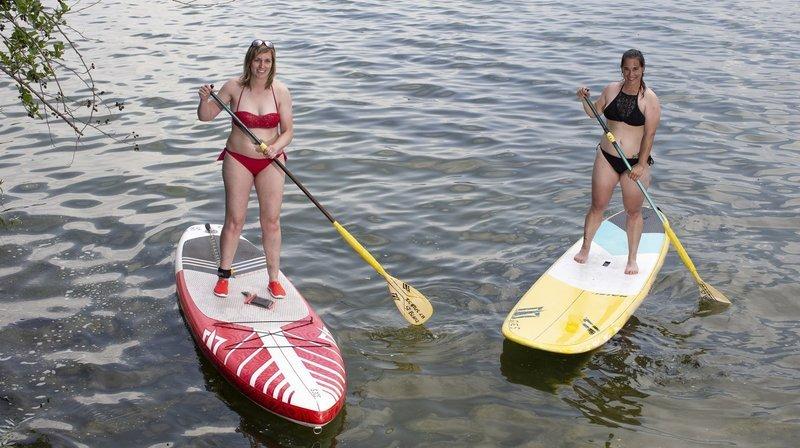 La mode du paddle déferle sur les lacs neuchâtelois