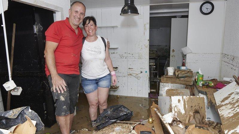 Inondations à Cressier: «Mon laboratoire de pâtisserie est entièrement détruit»