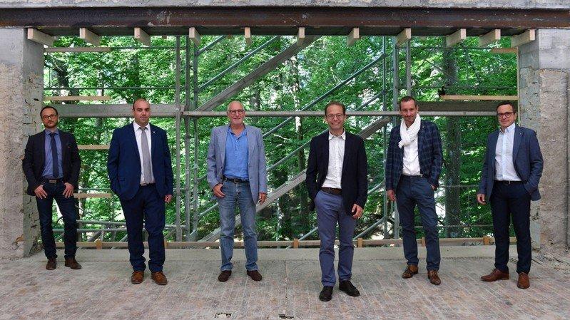 Le Conseil communal de La Chaux-de-Fonds présente sa photo officielle