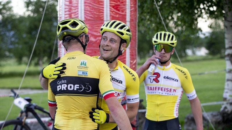 Cyclisme: à la fin, c'est Nicolas Lüthi qui gagne encore