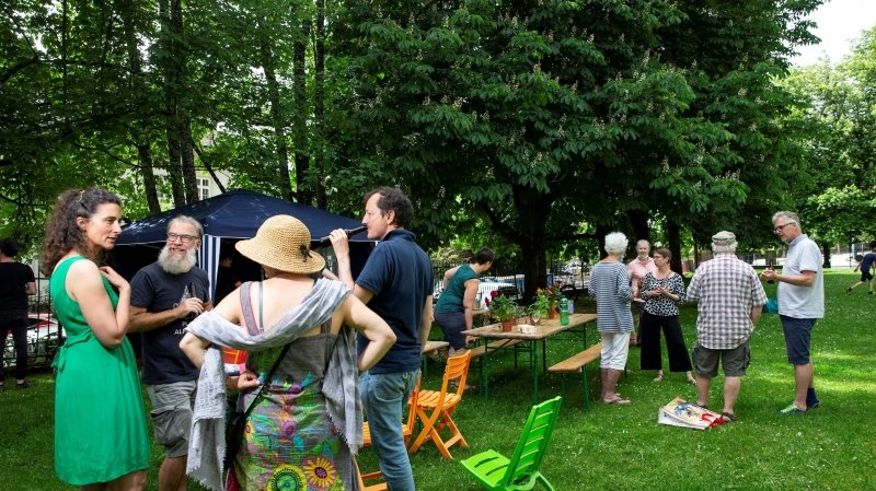 A La Chaux-de-Fonds, le collectif Latchauxverte fête sa victoire