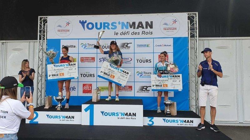 Tours: une reprise réussie pour la triathlète neuchâteloise Joanna Ryter