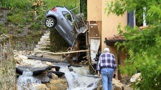 Inondations à Cressier, Cornaux, Frochaux et Enges: la solidarité se met en place