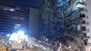 Etats-Unis: un immeuble de douze étages s'effondre soudainement à Miami