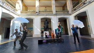 Neuchâtel: L'Avant-Scène opéra interprète Offenbach au collège de la Promenade