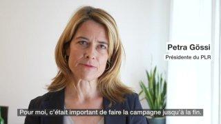 La présidente du PLR Petra Gössi se retirera à la fin de l'année