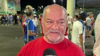 Les fans ne sont pas satisfaits de la performance de l'équipe suisse contre l'Italie