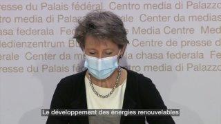 Energie: le Conseil fédéral présente une grande réforme de l'énergie