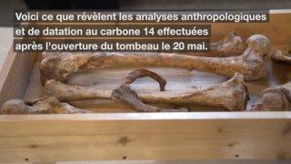 Payerne: la reine Berthe n'est pas le squelette sorti du tombeau de l'abbatiale