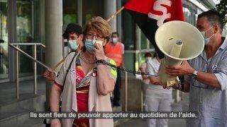 Journée de grève au CHUV