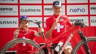 Alexandre Balmer «très ému» par son titre national en espoirs à Gstaad