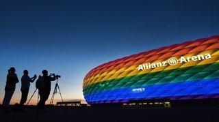 Au cœur de l'Euro: l'UEFA refuse l'illumination du stade de Munich en arc-en-ciel