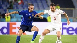 Euro 2020: la Suisse étrillée 3-0 par l'Italie