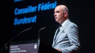 Alain Berset à Neuchâtel pour ouvrir l'édition 2021 du Nifff