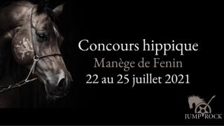 Jump & Rock - Concours hippique Fenin
