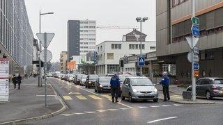 Neuchâtel: la rue de la Pierre-à-Mazel en chantier