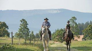 Dans la vallée des Ponts-de-Martel, une randonnée ludique pour cyclistes et cavaliers