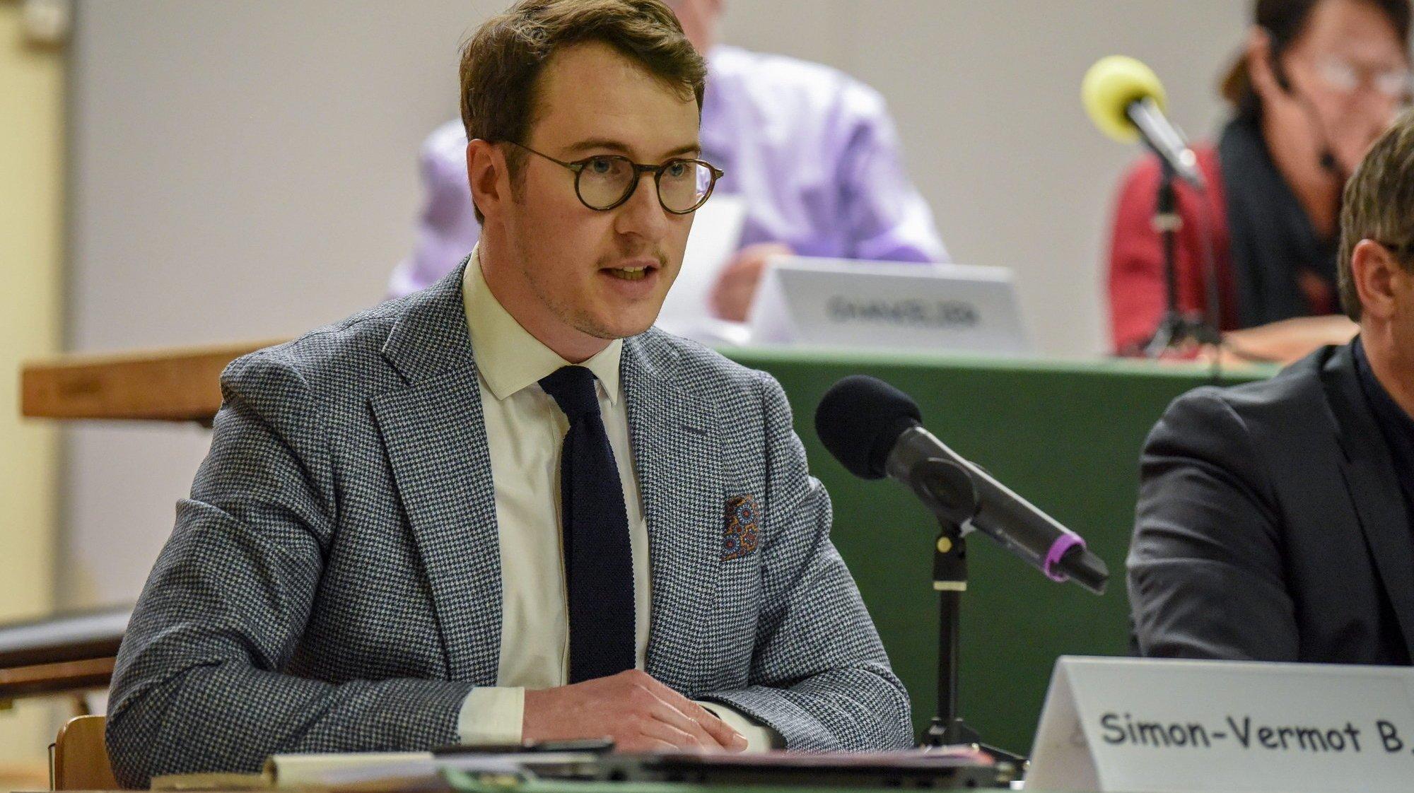 Val-de-Travers: Benoît Simon-Vermot président