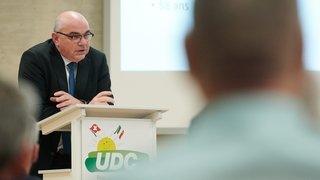 Grégoire Cario prend la tête de l'UDC neuchâteloise, Walter Willener quitte la politique