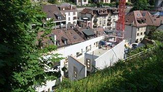 Une friche du centre-ville de Neuchâtel est en train de renaître