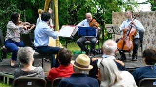 Sept concerts pour fêter la musique dans le parc du château de Cormondrèche