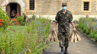 Cressier: l'armée part, le nettoyage continue