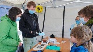 Initiation au «Rama'cyclage» des masques à La Chaux-de-Fonds