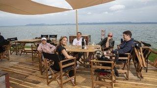 Retrouvez l'ambiance de Festi'neuch sur les Jeunes-Rives de Neuchâtel