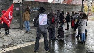 Grève pour l'avenir: ils ont fait du bruit à la Tchaux
