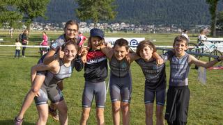Val-de-Ruz: un triathlon placé sous le signe de la jeunesse