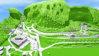 Le chantier du tunnel de contournement routier du Locle a débuté