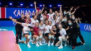 Volleyball: le mois «intense» de Lauren Bertolacci et Pablo Sanchez avec la sélection canadienne