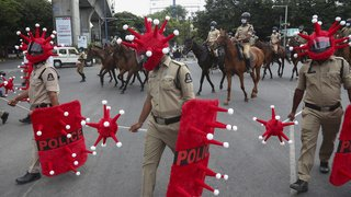 policier rouges virus 9 juin