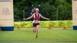 Marianne Fatton gagne la course des 31 km du Swiss Canyon Trail