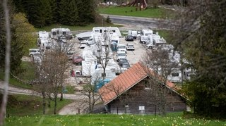 Encore du pragmatisme avec les nomades à La Vue-des-Alpes